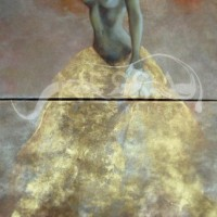 figurative art - Beauty in the Clouds
