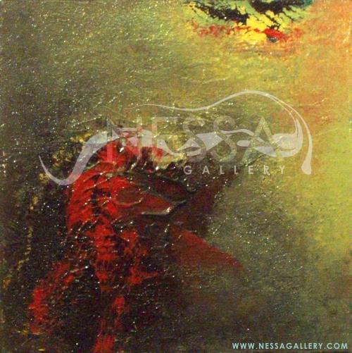 abstract art - Moonlight Series I
