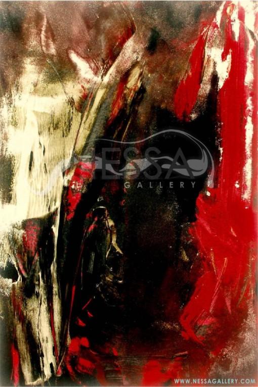 abstract art - Rough wind II