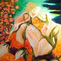 figurative art - Spreading Love