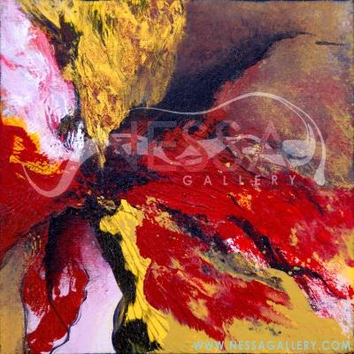 abstract art - Sun Burst