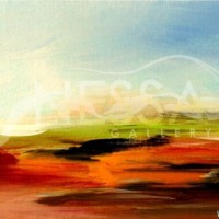 abstract landscaping - Sunrise I