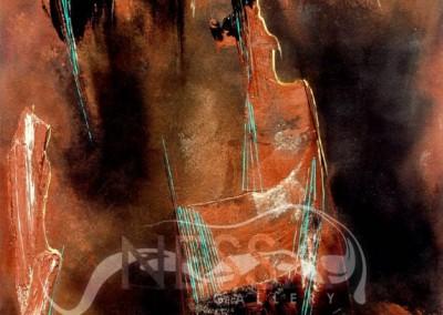 Symphony-Acrylic on Paper-20x30